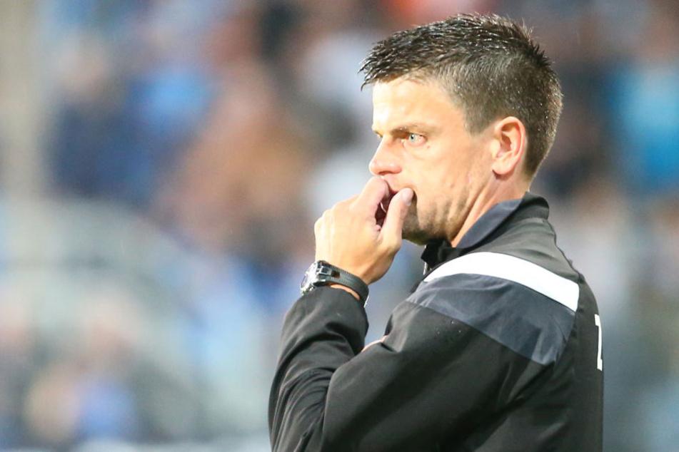 FSV-Coach Torsten Ziegner will am Dienstag endlich wieder einen Sieg seiner Truppe sehen.