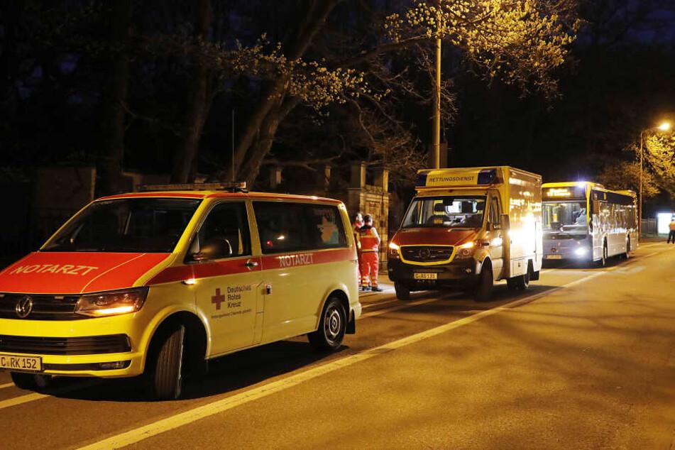 Notbremsung! Verletzte bei Busunfall in Chemnitz