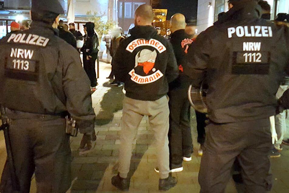 Die Polizei NRW hat schon einmal die Rocker Osmanen Germania kontrolliert.