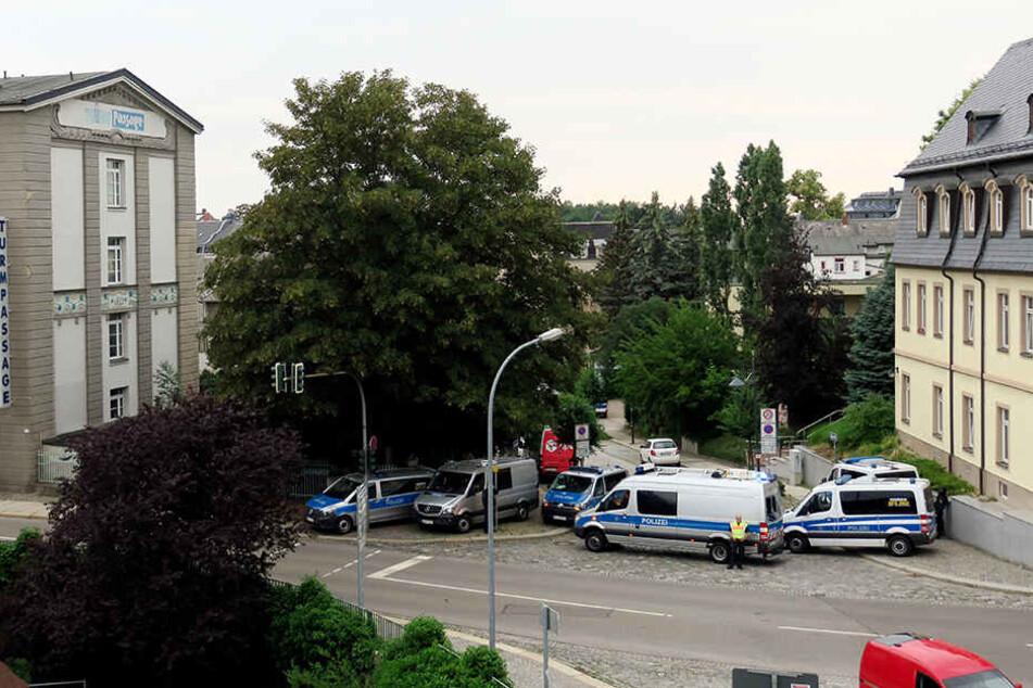 Auf der Suche nach Hardy G. kam es im Juni 2018 zu einem Polizei-Großeinsatz in Zwickau.