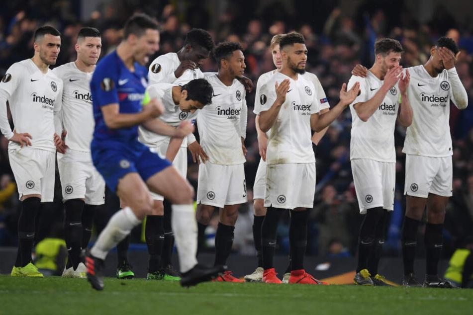 Zwar schieden die Frankfurter im Europa League-Halbfinale gegen den FC Chelsea aus, doch die Adlerträger legten dabei aber eine schier übermenschliche Moral an den Tag.