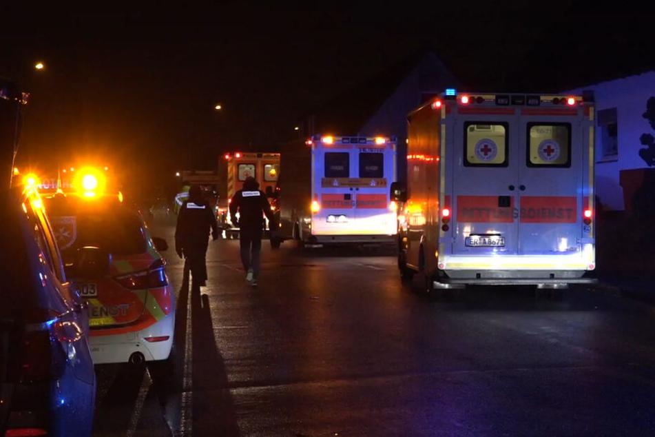Flammen-Hölle in Nürnberg: Fünf Tote, darunter mehrere Kinder