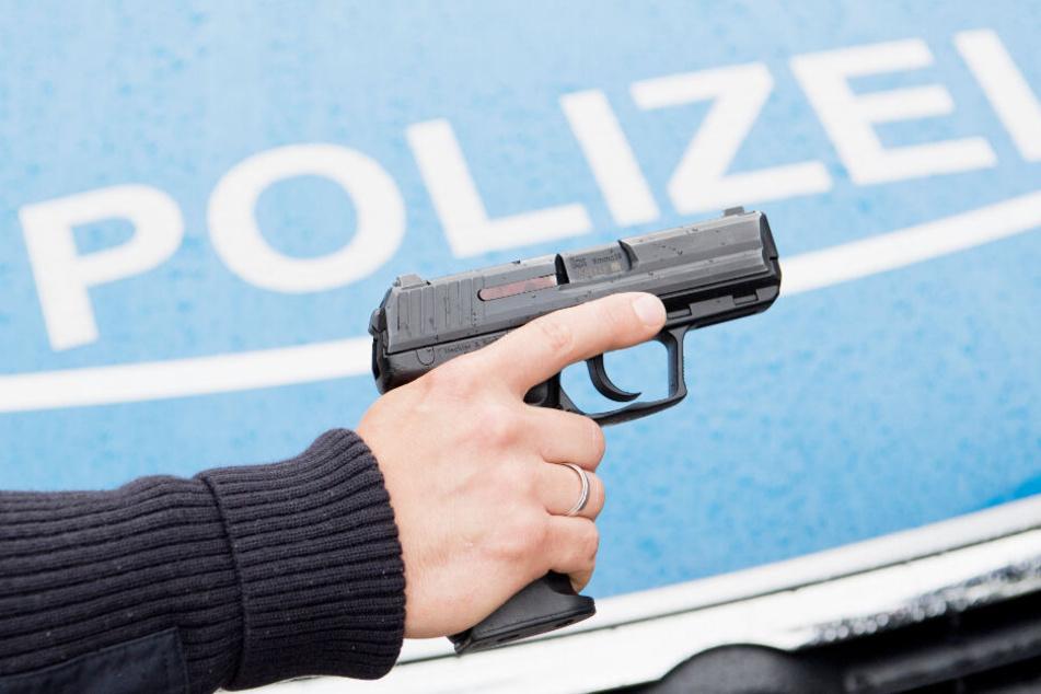 Ein Polizist hat in Geesthacht einen Warnschuss abgegeben.