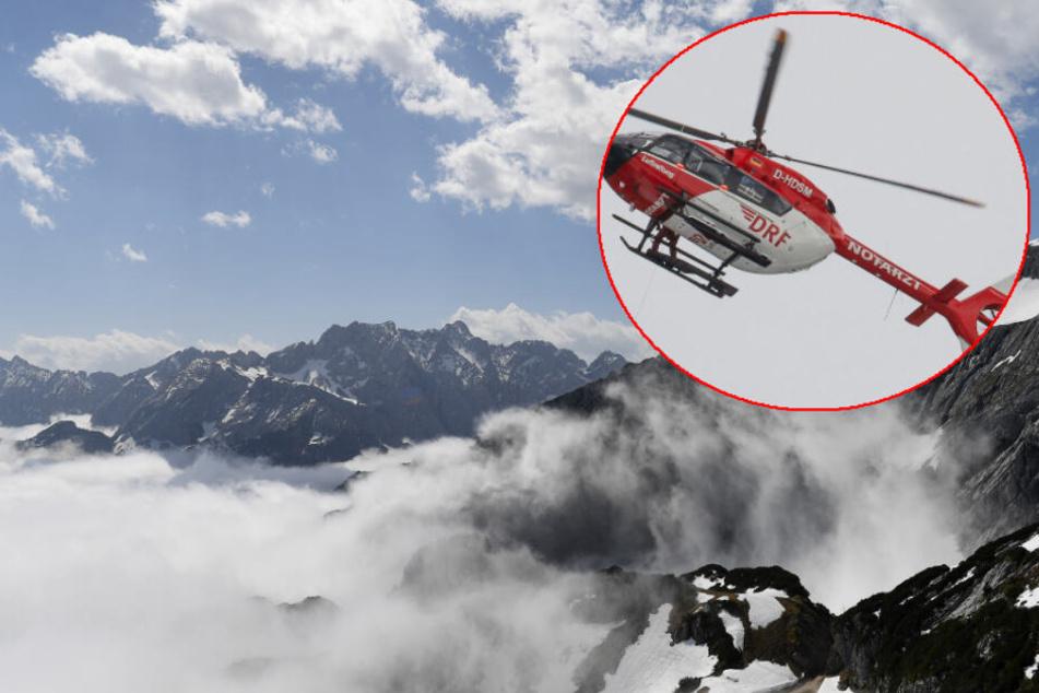 Mann (36) stürzt in den Alpen 100 Meter tief in den Tod