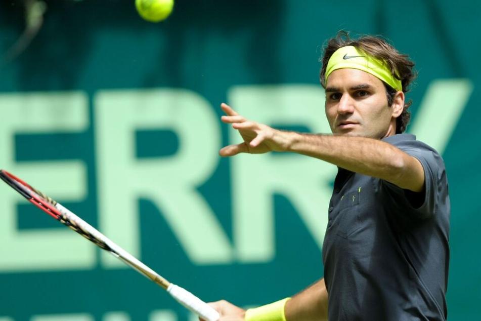 Nun ist Roger Federer bereit für den zehnten Sieg.