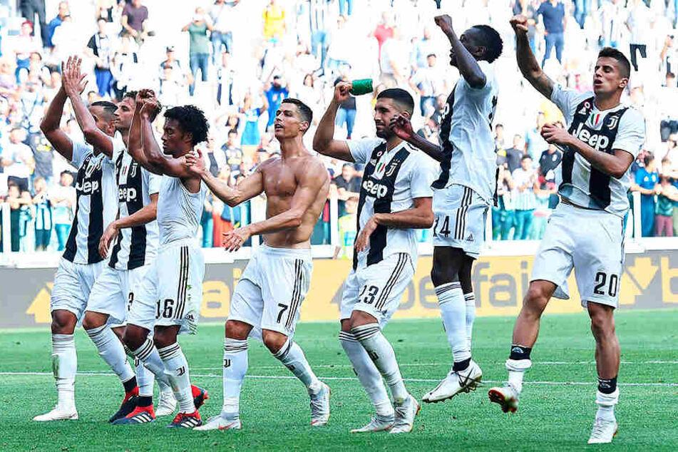 Juventus Turin konnte den vierten Sieg im vierten Spiel feiern.