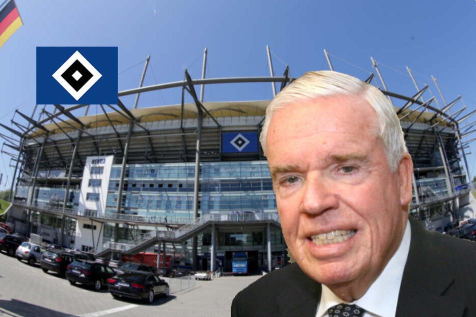 HSV-Investor Kühne kauft für ein weiteres Jahr Namensrechte!