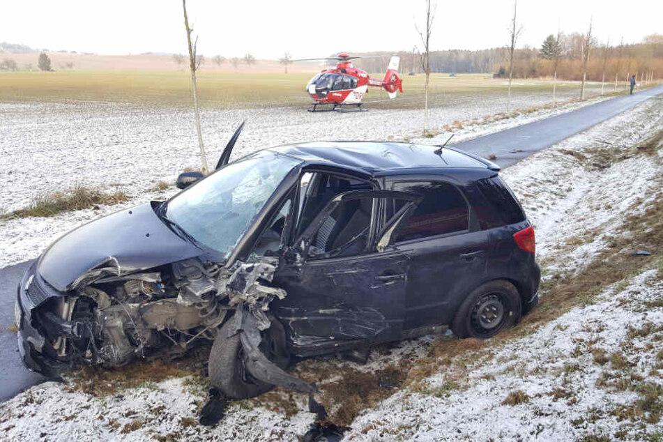 Der Fahrer des Suzuki (72) hatte den Opel beim Überholen übersehen.