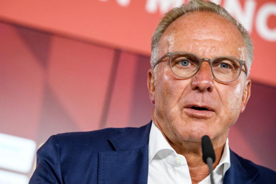 Karl-Heinz Rummenigge und der FC Bayern freuen sich auf den Audi Cup 2019.