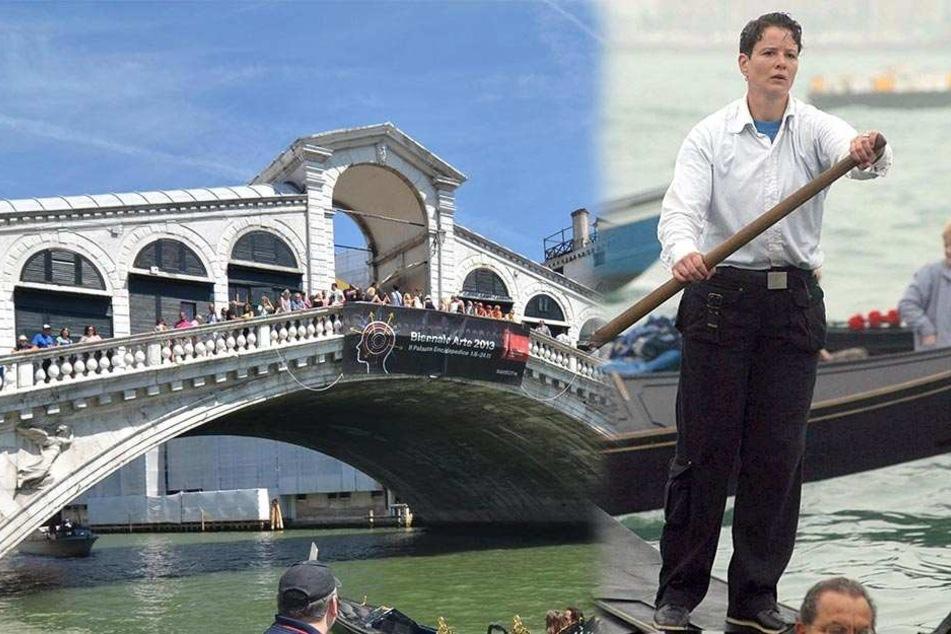 Kurios: Erste Gondelfahrerin Venedigs ist jetzt ein...