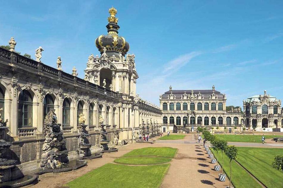 41 Tage dauerten vor 300 Jahren die Hochzeitsfeierlichkeiten im Zwinger.