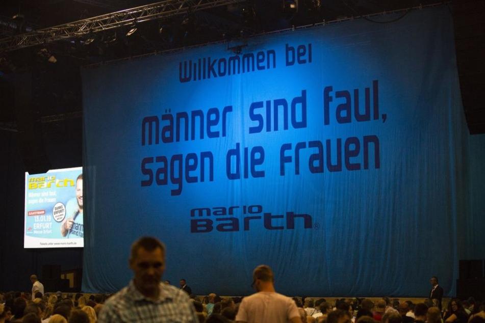 Mit seinem neuen Programm war der Berliner in Erfurt zu Gast.