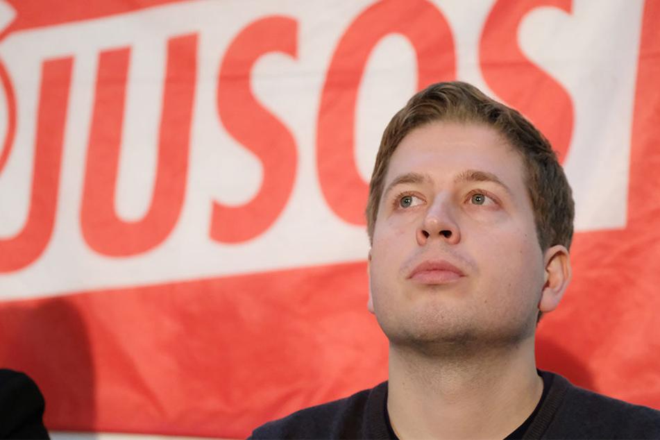 Der Juso-Bundesvorsitzende Kevin Kühnert (28) startete am Freitag mit der Kampagne zum Mitgliederentscheid.