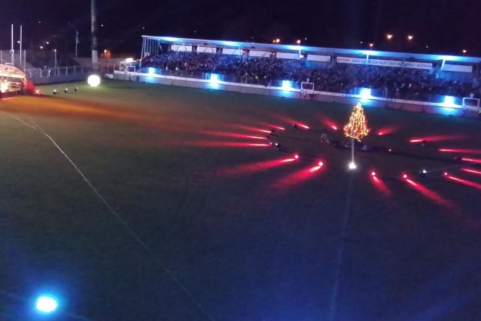 Stuttgart singt Weihnachten herbei: Tolle Stimmung im Gazi-Stadion