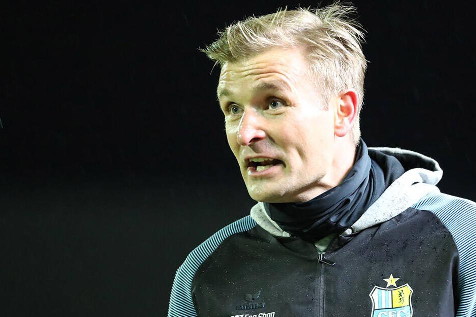 Nach drei Spielen mit nur einem Punkt will Trainer David Bergner mit seiner Mannschaft endlich wieder gewinnen.