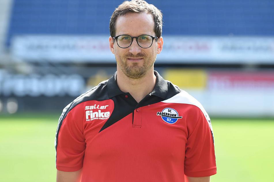 Physiotherapeut Jörg Liebeck hat seinen Arbeitsvertrag beim SCP verlängert.
