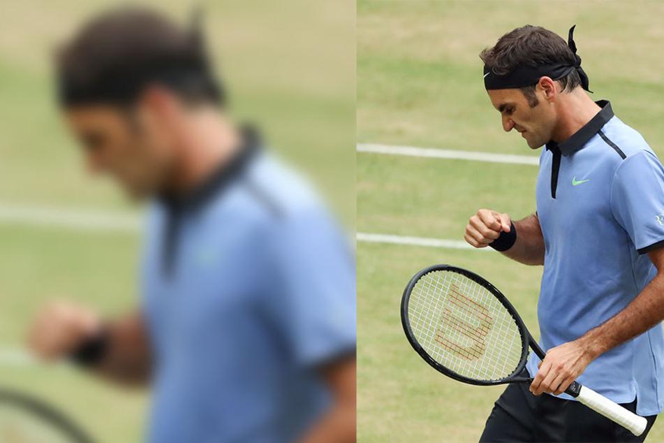 Roger Federer, der ebenfalls am Samstag den Einzug ins Finale perfekt machte, freut sich auf das Duell.