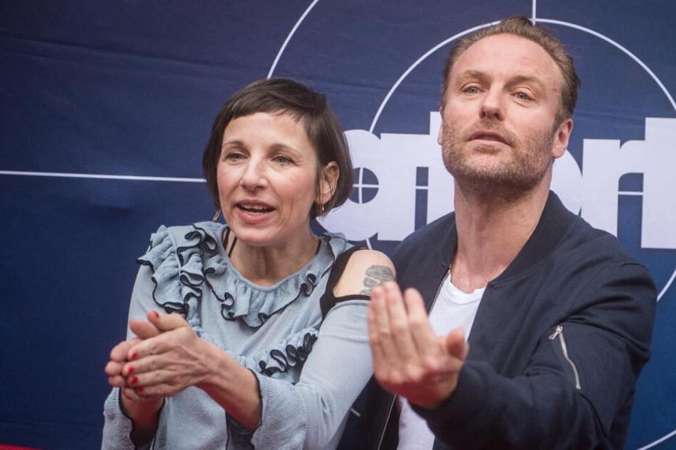 Die fiktiven Kriminalhauptkommissare Nina Rubin, gespielt von Meret Becker, und Robert Karow, gespielt von Mark Waschke, sind die Hauptfiguren der in Berlin spielenden Folgen der ARD-Fernsehreihe Tatort.