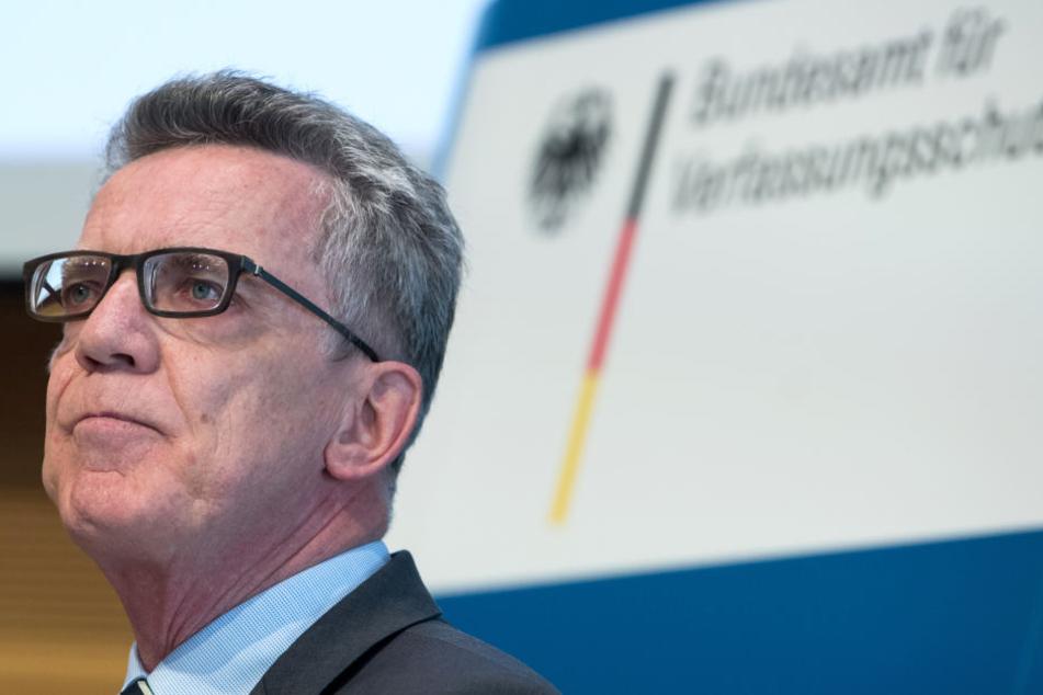 Bundesinnenminister Thomas de Maizière hatte kurzzeitig ein Abschiebestopp nach dem Anschlag verhängt.