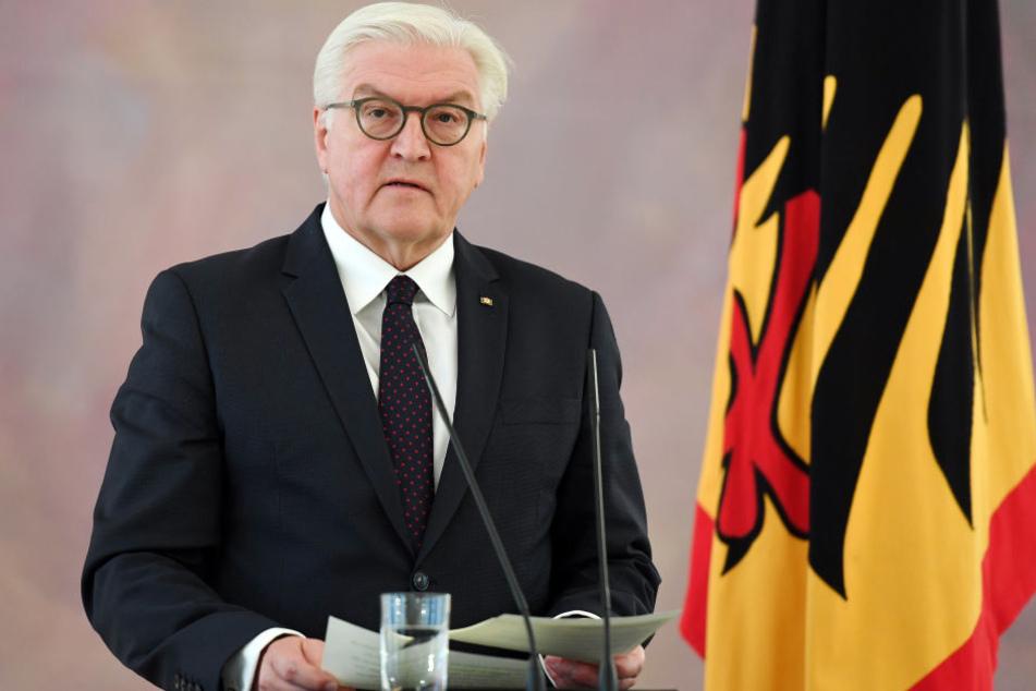 Bundespräsident Frank-Walter Steinmeier hatte sich am Montag gegen Neuwahlen ausgesprochen.