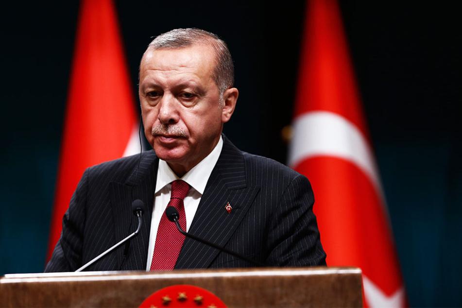 Dürfte sehr enttäuscht über das Ergebnis sein: Der türkische Präsident Recep Tayyip Erdogan.
