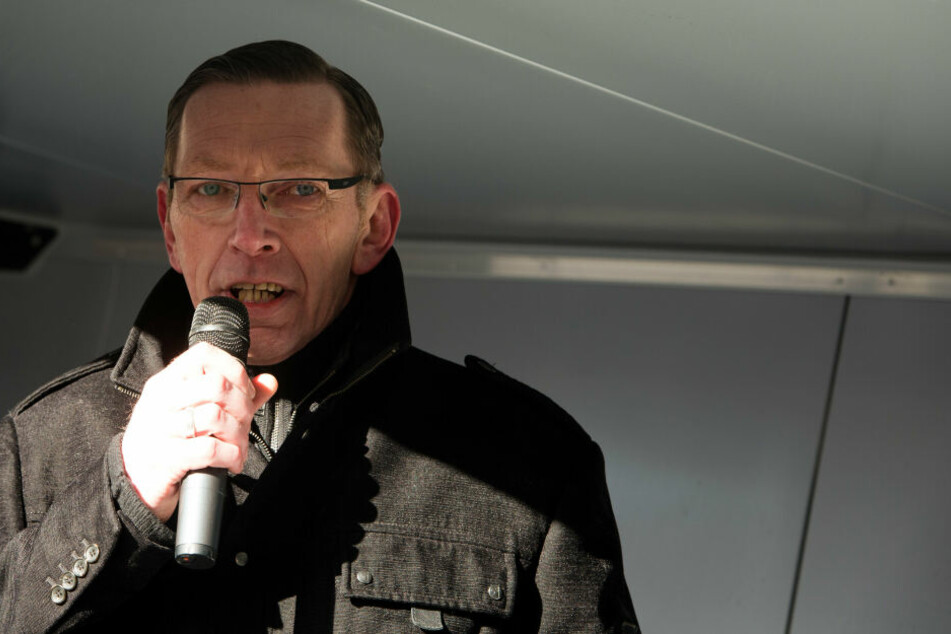 Pegida-Mitbegründer René Jahn.
