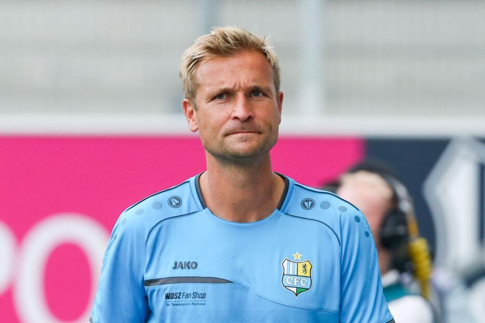 Bis September 2019 war David Bergner (46) Trainer des Chemnitzer FC.