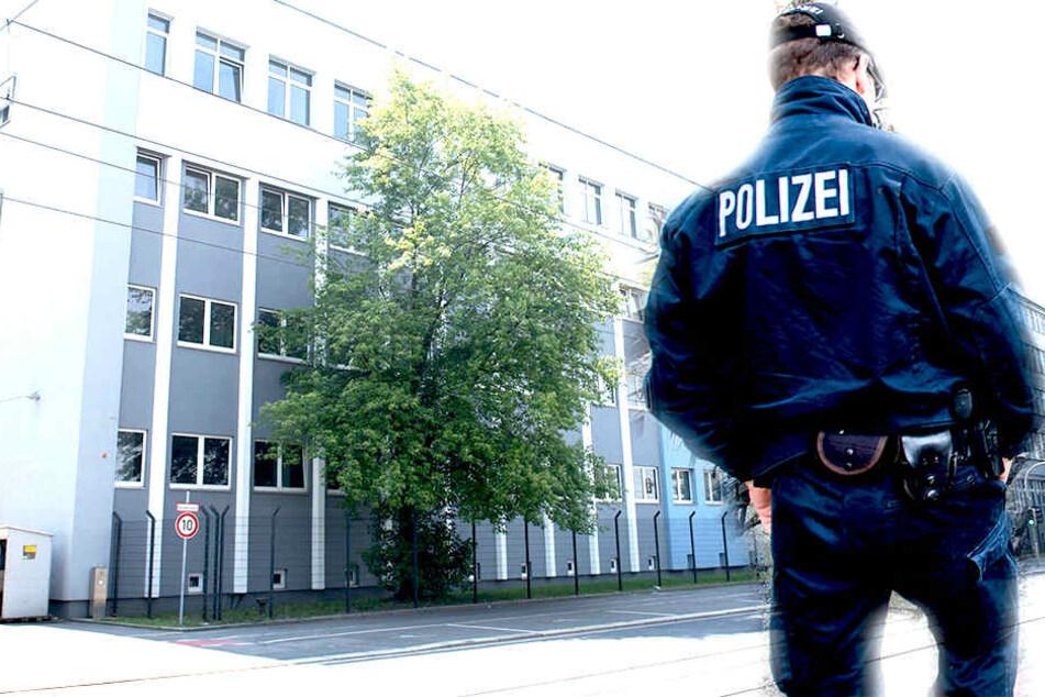 Eine Auseinandersetzung in der Erstaufnahmeeinrichtung an der Hamburger Straße ist eskaliert. Der Angreifer kam in Polizeigewahrsam.