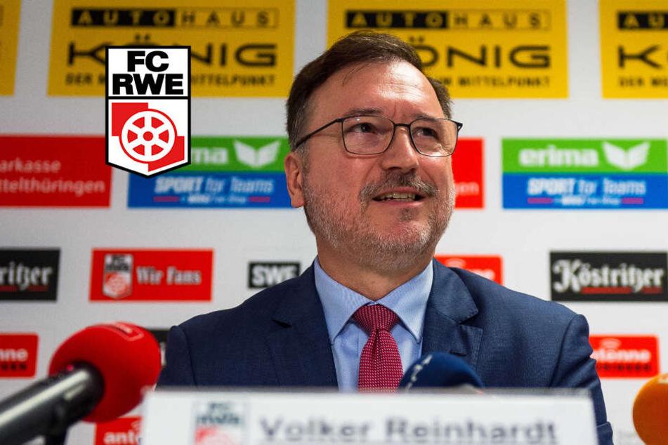 Volker Reinhardt hat nach der Insolvenz die Leitung des Vereins übernommen.