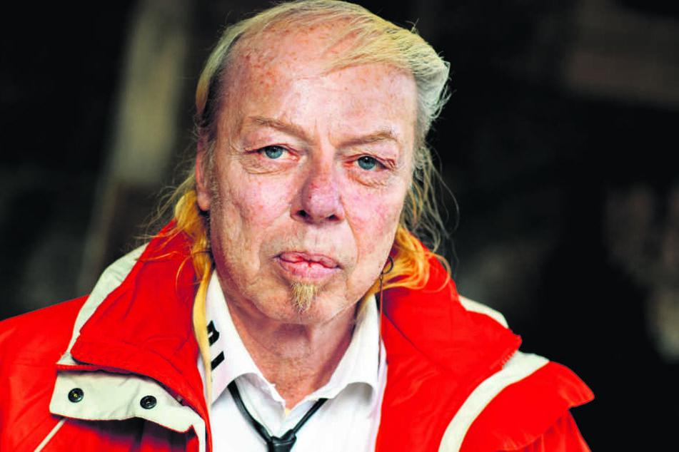 Jens-Uwe Jahn alias DJ Geyer (57) fordert Rücktritte und will selbst OB werden.