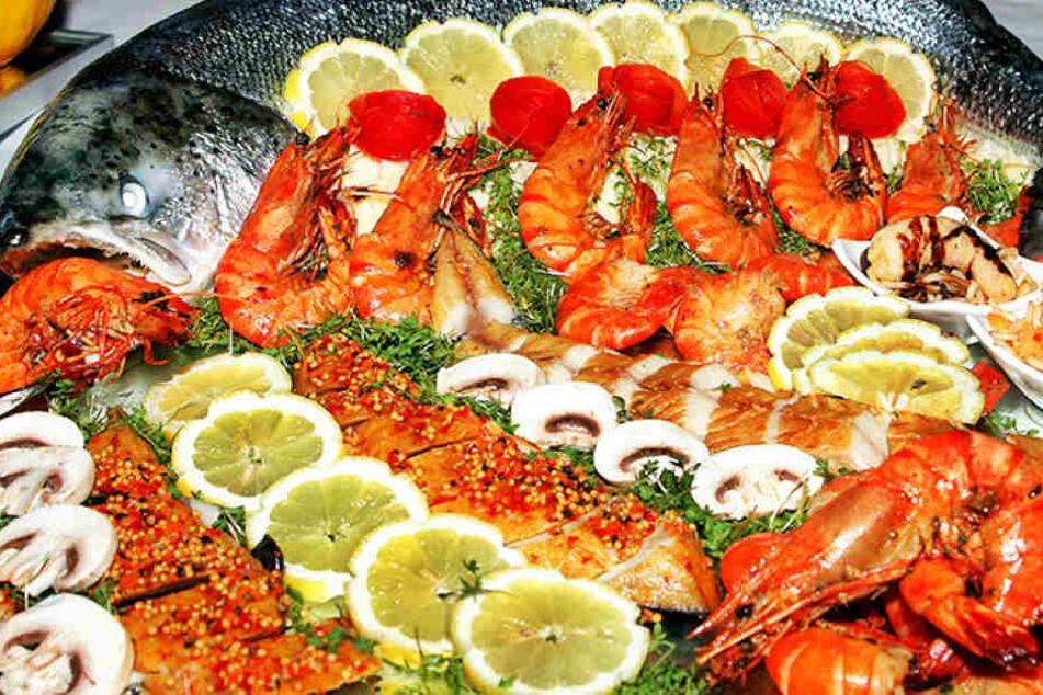 Rapper Terry Peck (33) bestellte in einem edlen Restaurant eine gigantische Fischplatte - nur hatte er leider kein Geld dabei (Symbolbild).
