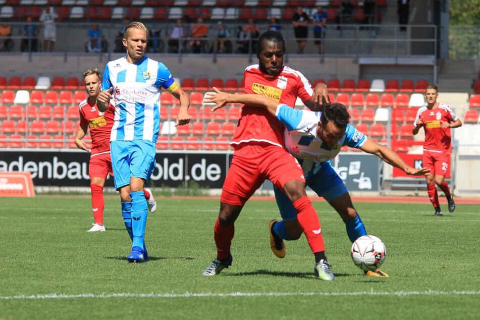 Die 7246 Zuschauer sahen über 90 Minuten einen heißen Kampf zwischen dem RWE und dem CFC