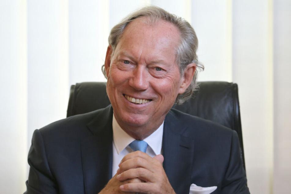 Professor Werner Mang interessiert sich seit seiner Jugend für Gesichter.
