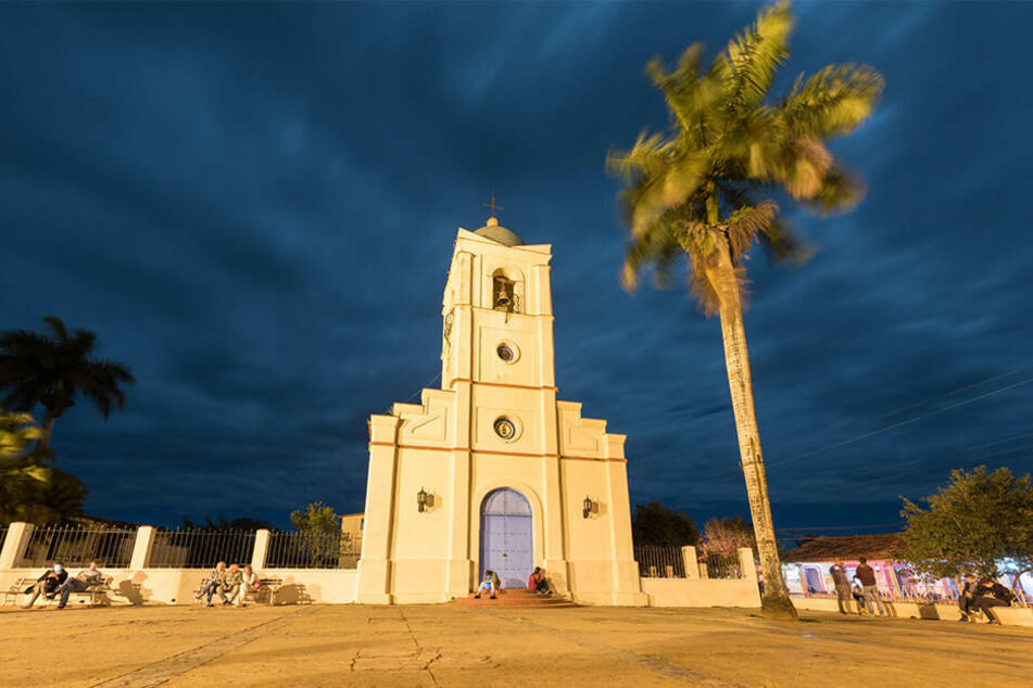 In Vinales auf Kuba, seit 1999 Weltkulturerbe, schlug der Meteorit ein.