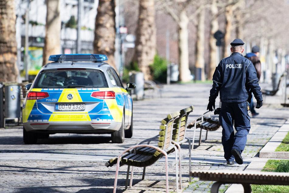 Die Dresdner Polizei sucht nach den Tätern (Symbolbild).