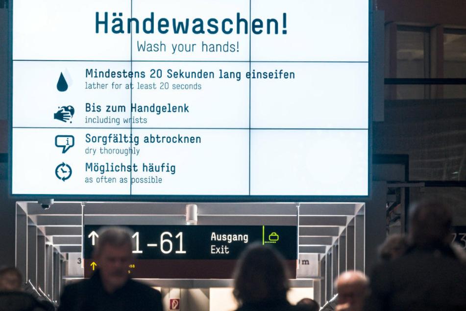 Berlin: Funktioniert Luftanhalten als Schnelltest für das Coronavirus?