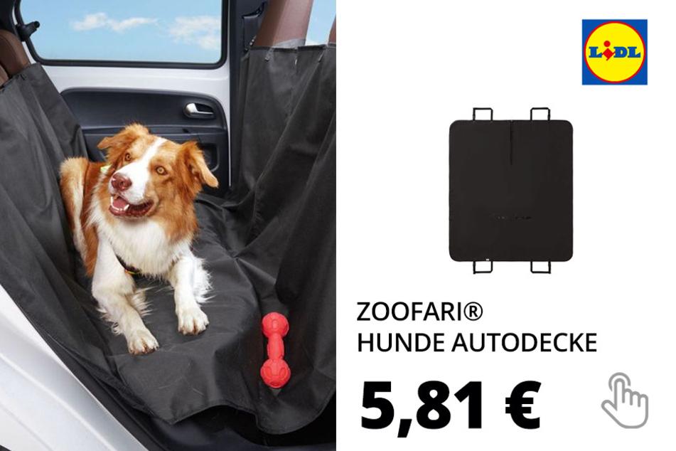 ZOOFARI® Hunde Autodecke