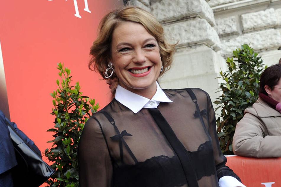 Elke Winkens ist nur noch bis Mitte März als Xenia Saalfeld zu sehen.