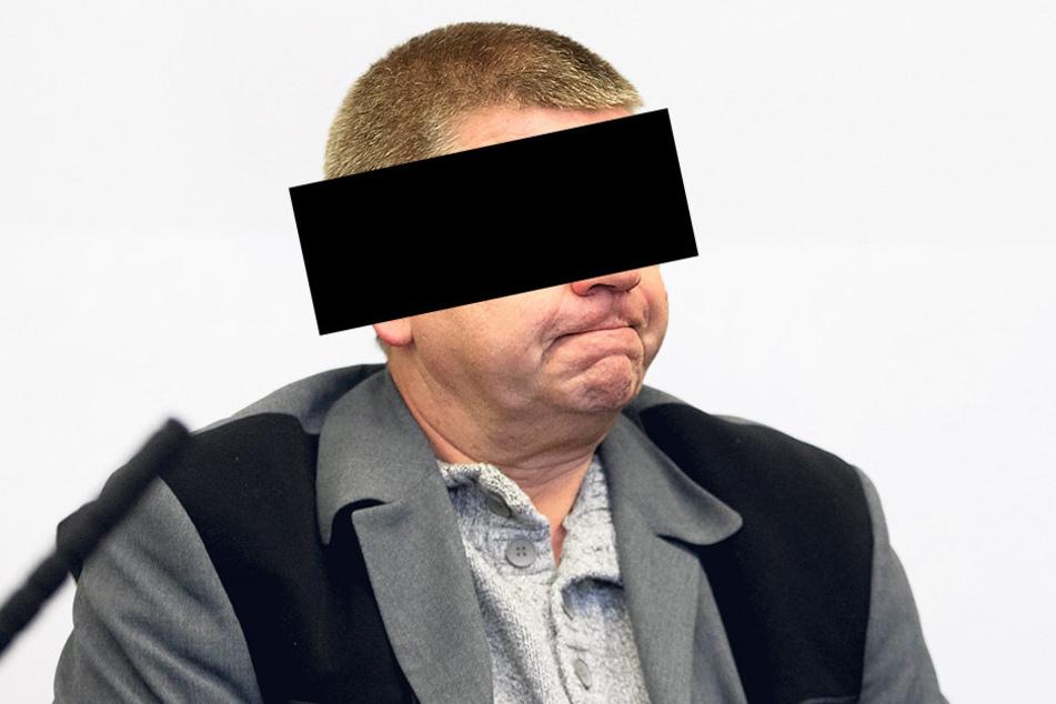Das Ende einer Karriere im Vollzugsdienst: Schließer Ricardo F. (52) muss hinter Gitter.