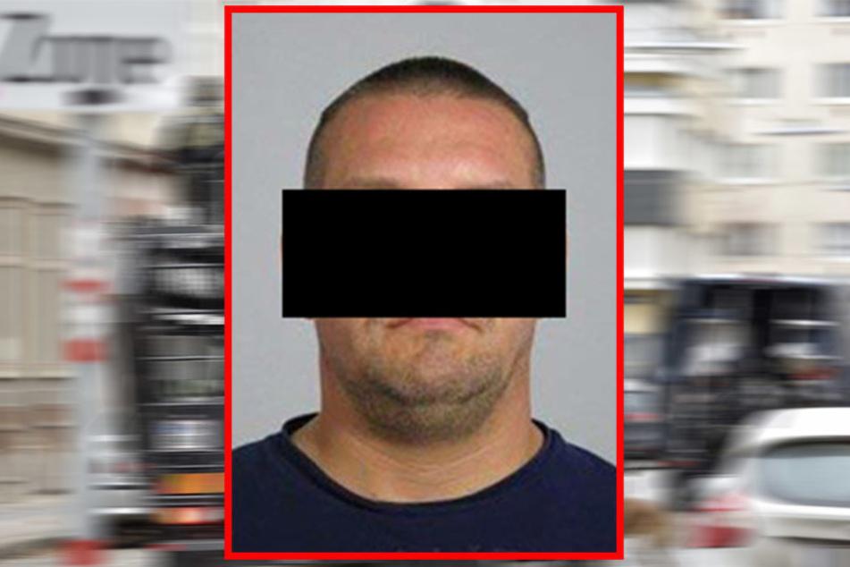 Marcus M. (34), ehemaliger Chef der Leipziger Hells Angels, wurde verpfiffen.