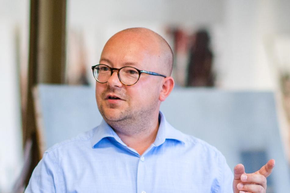 """""""Die Stadt muss alles tun für die Automesse"""": FDP-Ratsherr und Bundestagspolitiker Frank Müller-Rosentritt (37)."""