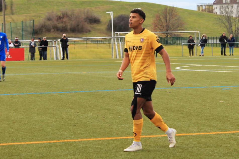 Ransford-Yeboah Königsdörffer trumpfte gegen den 1. FC Magdeburg groß auf, traf selbst dreimal und gab auch noch die Vorlage zum 4:1.