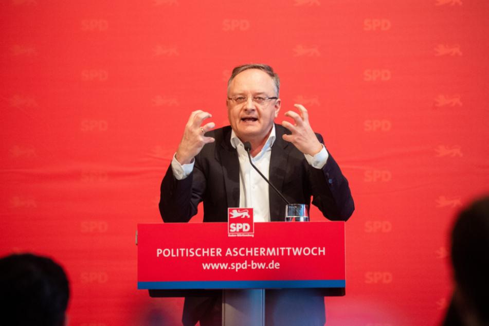 SPD-Landtagsfraktionschef Andreas Stoch (50).