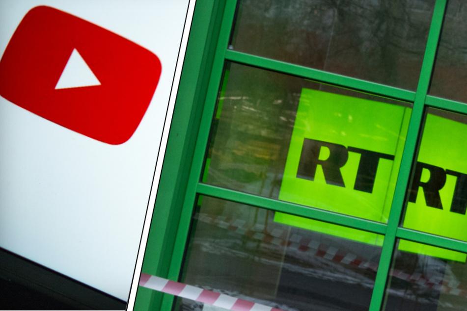 """""""Akt der Zensur"""": Russland droht YouTube nach Sperrung von Propaganda-Sender"""