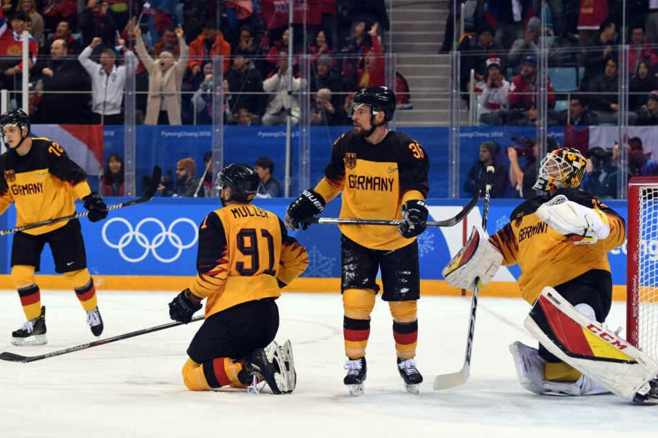 Geiles Turnier, Jungs! Deutschland holt Olympia-Silber im Eishockey