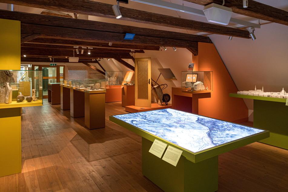Im Palitzsch-Museum sind noch Schloss-Exponate ausgestellt.