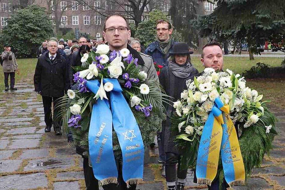 Chemnitz gedenkt der ermordeten Juden
