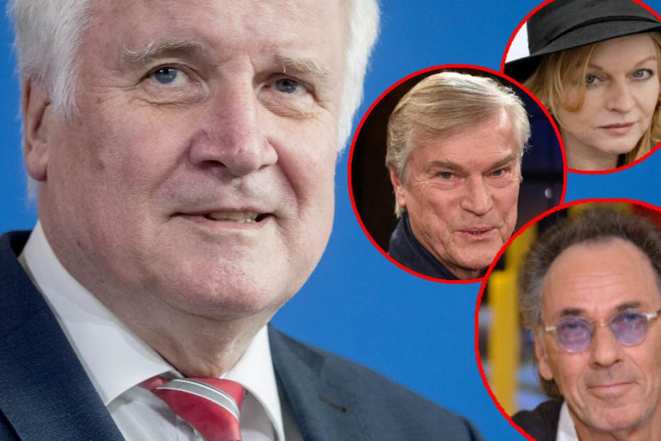 """""""Wir sind entsetzt"""": Prominente fordern Seehofers Rücktritt"""