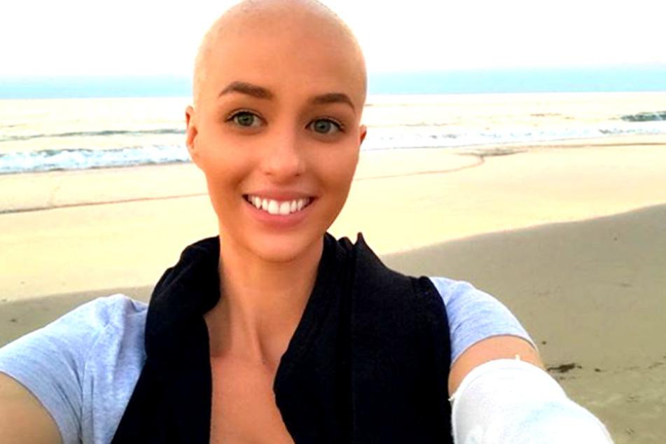 Vor knapp einem Jahr bekam die 24-jährige Australierin Georgia McLennan die Schock-Diagnose Krebs.