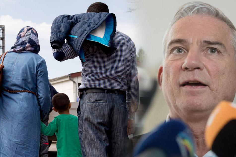 Politiker fordert härtere Bestrafung von kriminellen Flüchtlingen